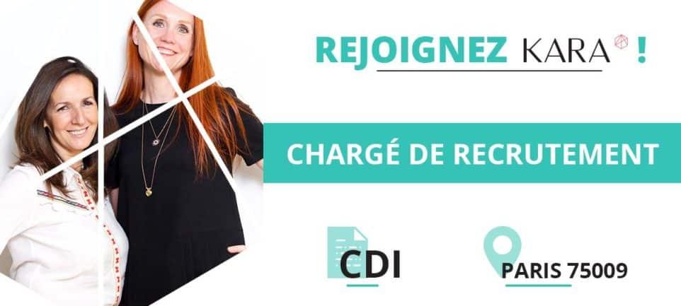 Offre emploi chargé de recreutement CDI